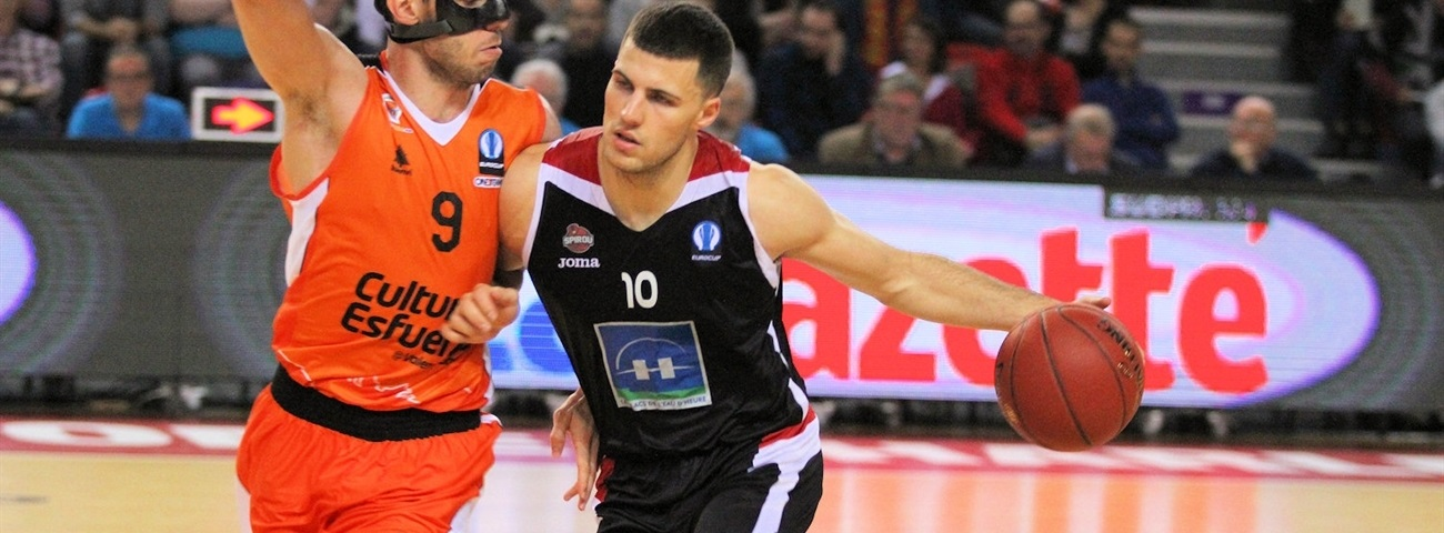 Eurocup Round 7 co-MVP's: Billy Baron and Paul Stoll