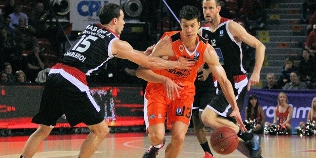 Regular Season, Round 5: Proximus Spirou Charleroi vs. Valencia Basket
