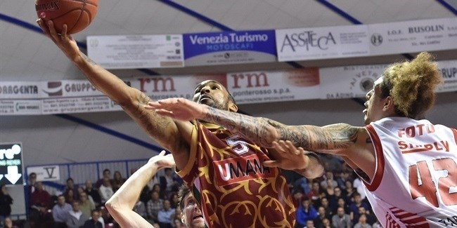 Regular Season, Round 5: Umana Reyer Venice vs. CAI Zaragoza