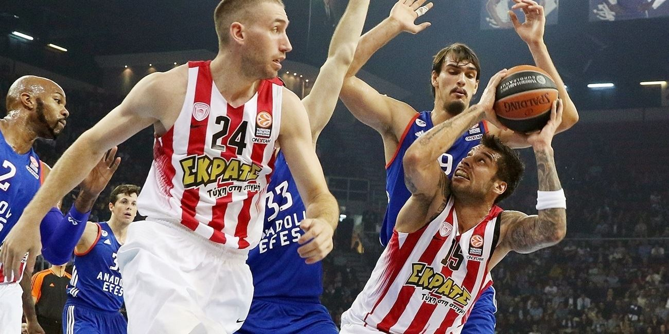 RS Round 5 report: Olympiacos rallies past Efes in overtime
