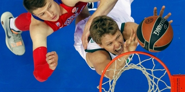 RS Round 5 report: Unicaja Malaga beats CSKA in Moscow to become lone unbeaten team at 5-0