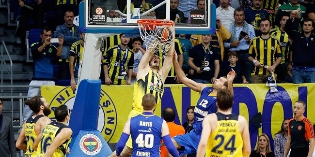 RS Round 5 report: Fenerbahce beats Khimki, climbs to first place in Group A