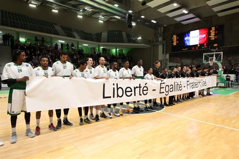 No Violence - Dominion Bilbao Basket - EC15 (photo Bilbao Basket)