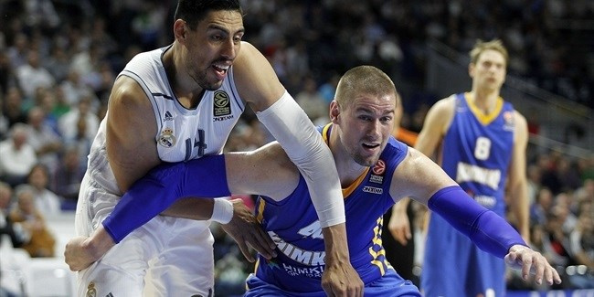 Regular Season, Round 6: Real Madrid vs. Khimki Moscow Region