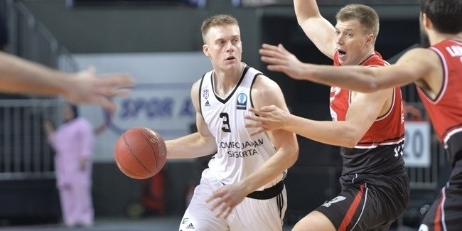 Regular Season, Round 6: Besiktas Sompo Japan Istanbul vs. Lietuvos Rytas