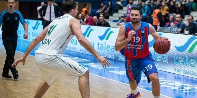 Regular Season, Round 6: Steaua CSM EximBank Bucharest vs. Unics Kazan