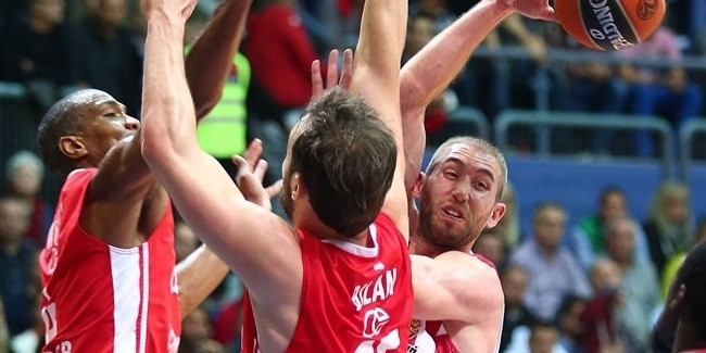 Regular Season, Round 6: Cedevita Zagreb vs. Olympiacos Piraeus