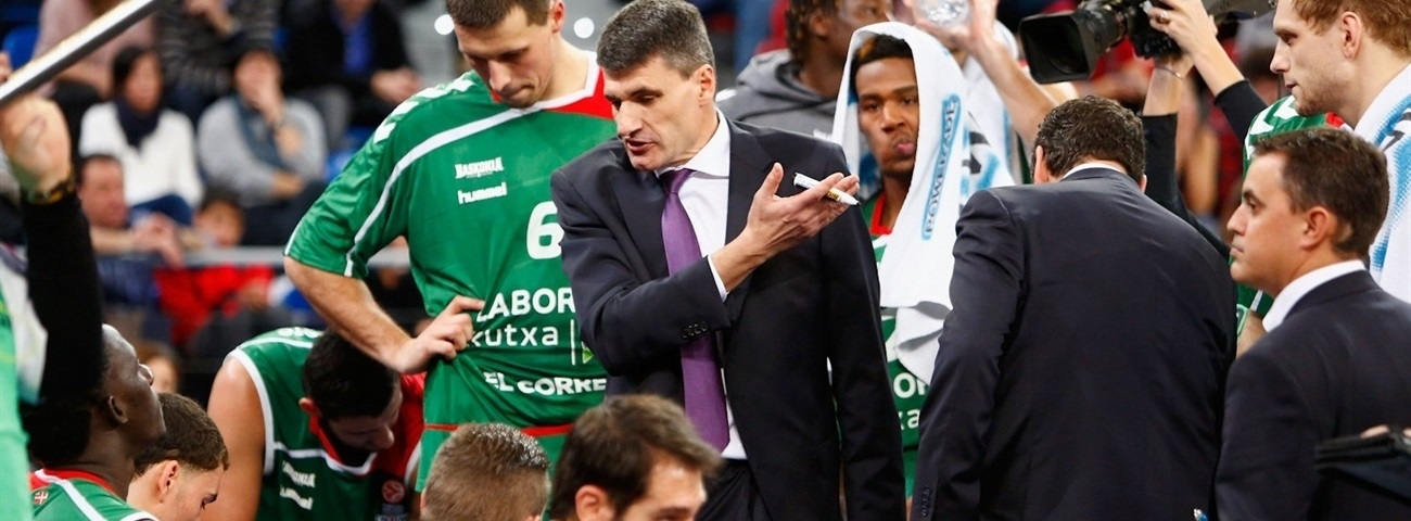 Martinez out, Perasovic back on Baskonia bench