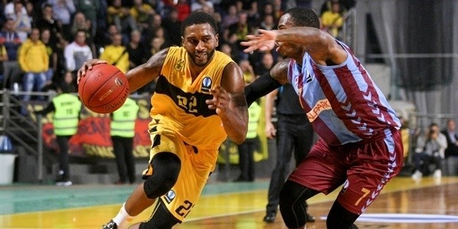 Regular Season, Round 6: Aris Thessaloniki vs. Trabzonspor Medical Park