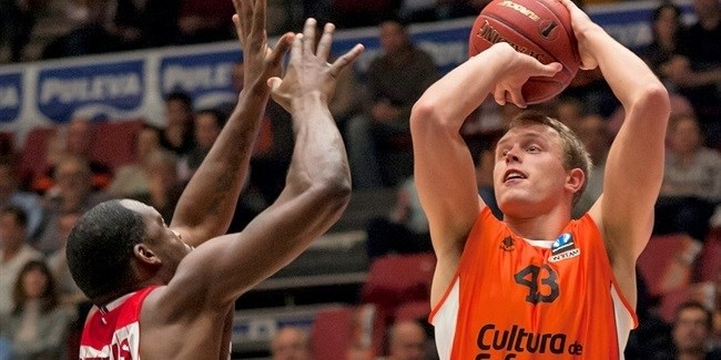 Regular Season, Round 6: Valencia Basket vs. SLUC Nancy