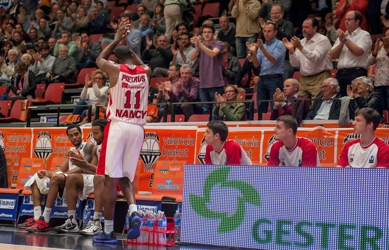 Florent Pietrus - SLUC Nancy - EC15 (photo Valencia - Isaac Ferrera)