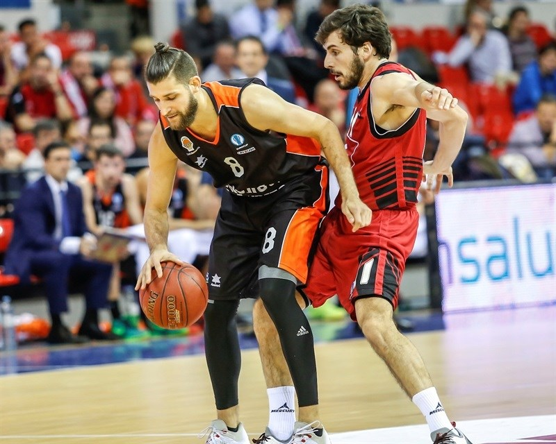 Antoine Diot - Valencia Basket - EC15 (photo CAI Zaragoza - Esther Casas)