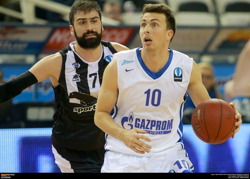 Ryan Toolson - Zenit St Petersburg - EC15 (photo PAOK - megapress - pavlosmakridis)