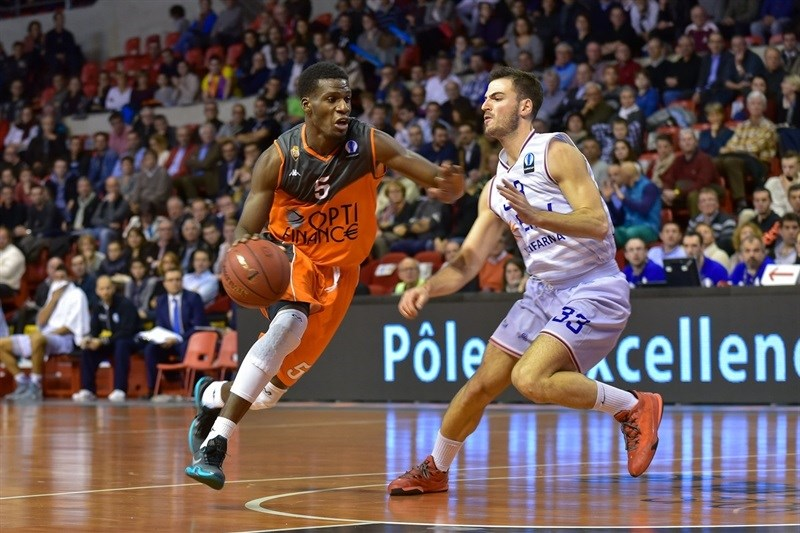 Lahaou Konate - Le Mans Sarthe Basket - EC15 (photo Dominique Breugnot-MSB)