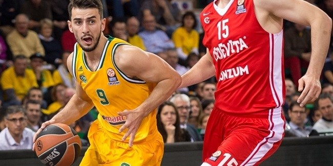 Regular Season, Round 7: Limoges CSP vs. Cedevita Zagreb