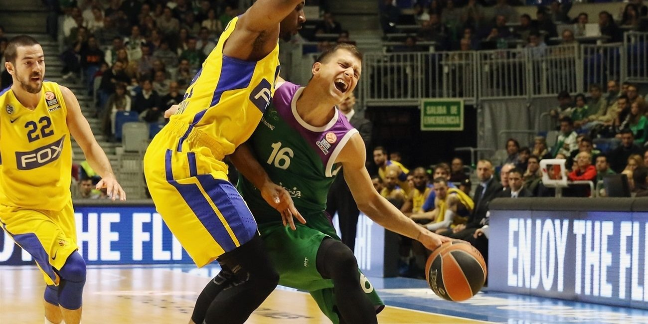 RS Round 7 report: Unicaja flies past Maccabi, 82-68, to reach Top 16!