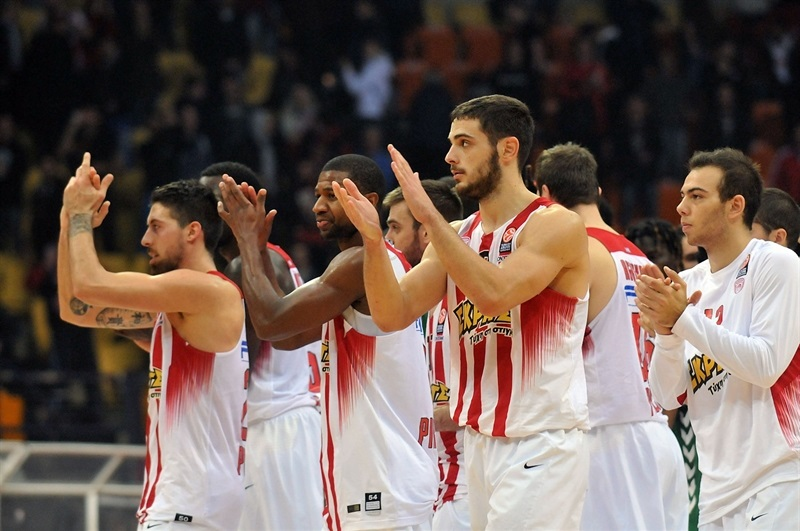 Players Olympiacos Piraeus - EB15