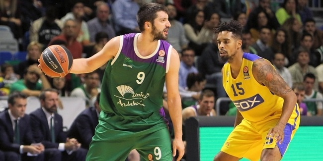 Unicaja's Markovic out of Top 16 with leg injury