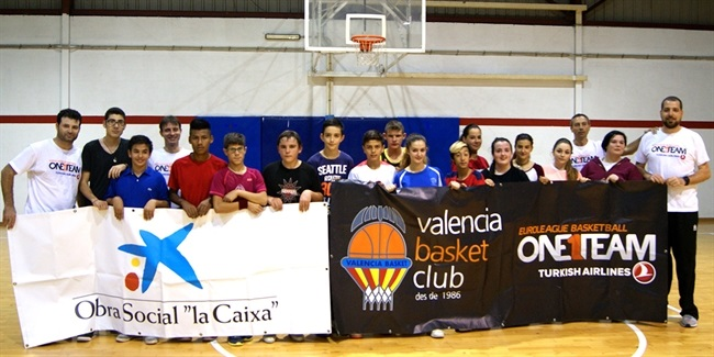 Valencia Basket's newest One Team project going strong
