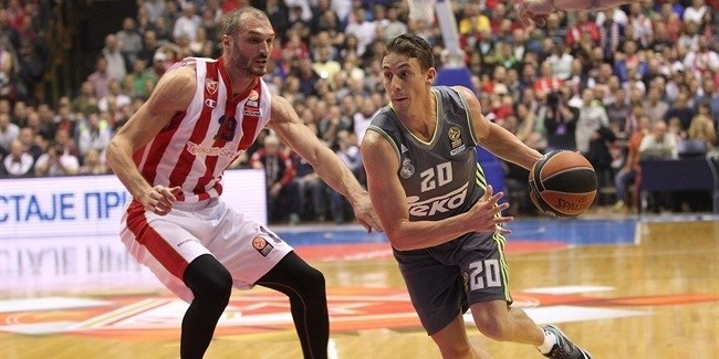 Regular Season, Round 7: Crvena Zvezda Telekom Belgrade vs. Real Madrid