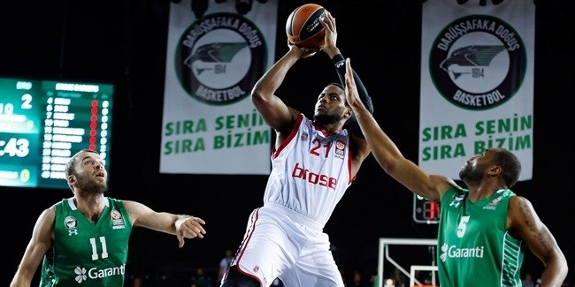 Regular Season, Round 7: Darussafaka Dogus Istanbul vs. Brose Baskets Bamberg