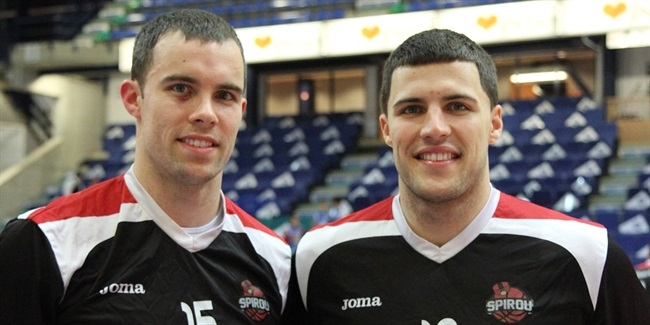 Jimmy and Billy Baron, Proximus Spirou Charleroi
