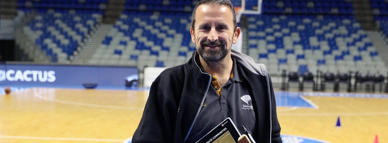 Joan Plaza, Unicaja: 'For everything, there is a reason'