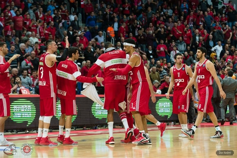 Players Hapoel Bank Yahav Jerusalem - EC15 (photo Hapoel Jerusalem - Dor Ketmi)