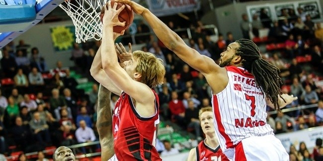 Regular Season, Round 8: CAI Zaragoza vs. SLUC Nancy