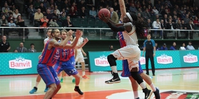 Regular Season, Round 8: Banvit Bandirma vs. Steaua CSM EximBank Bucharest