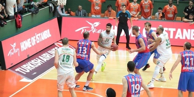 RS Round 8 report: Banvit thrashes Steaua, goes up to 4-4