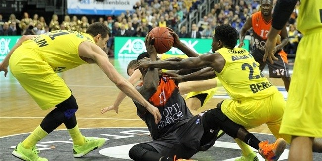 Regular Season, Round 8: ALBA Berlin vs. Le Mans Sarthe