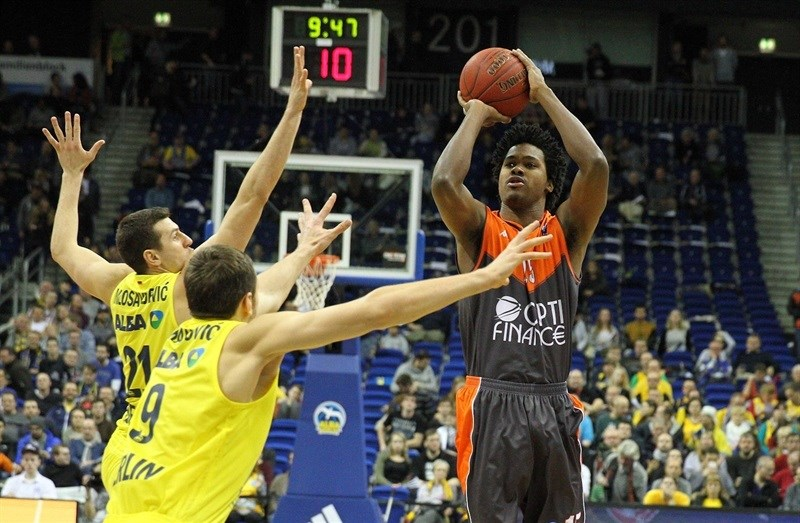 Mickael Gelabale - Le Mans Sarthe Basket - EC15 (photo ALBA Berlin - Camera4)