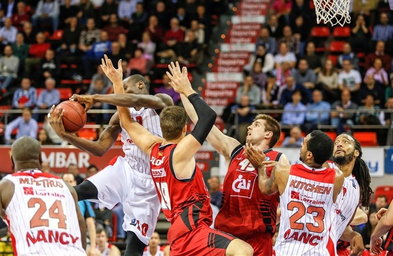 Bandja Sy - SLUC Nancy - EC15 (photo CAI Zaragoza - Esther Casas)