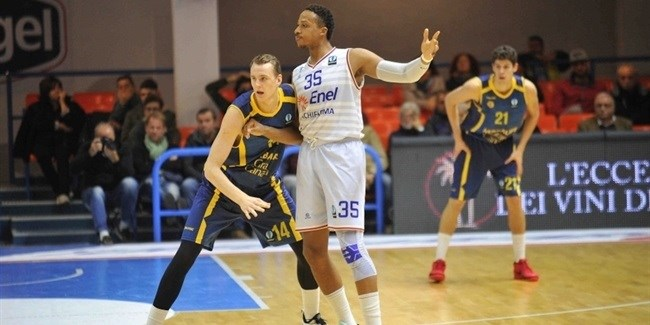 RS Round 8 report: Gran Canaria easies past Brindisi into the first place