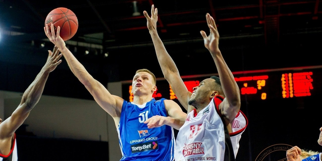 RS Round 8 report: Neptunas KO's Oktyabr with road win
