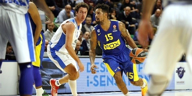 Regular Season, Round 8: Dinamo Sassari vs. Maccabi FOX Tel Aviv