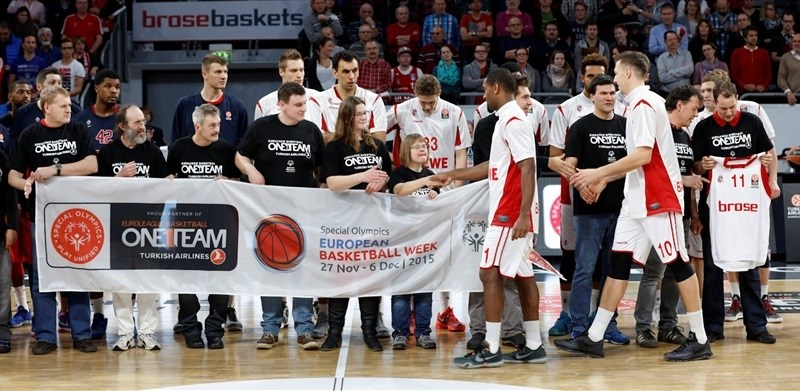 One Team - Brose Baskets Bamberg vs. CSKA Moscow - EB15