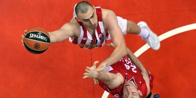 Regular Season, Round 8: Olympiacos Piraeus vs. EA7 Milan