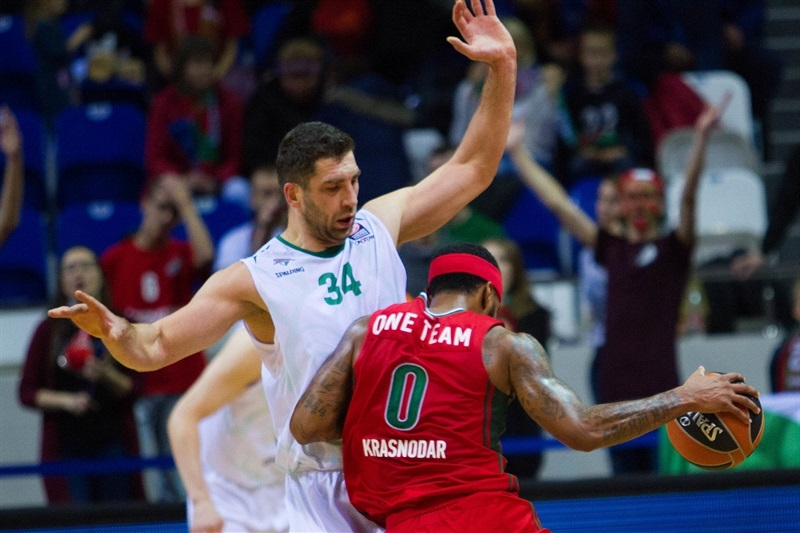 One Team - Macolm Delaney - Lokomotiv Kuban vs. Stelmet Zielona Gora - EB15