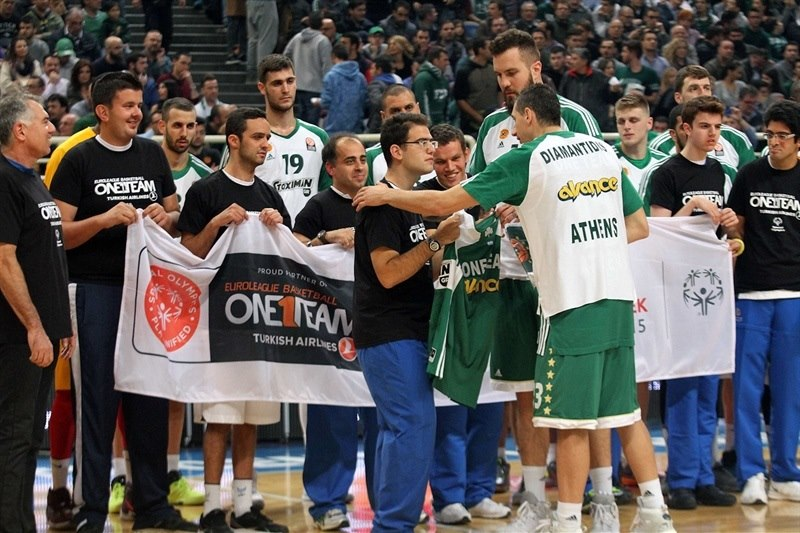 One Team - Dimitris Diamantidis - Panathinaikos Athens vs. FC Barcelona Lassa - EB15