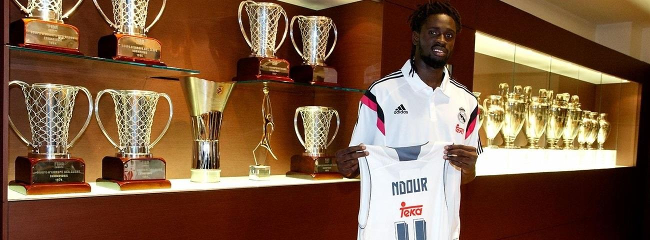 Real Madrid inks rookie forward Ndour