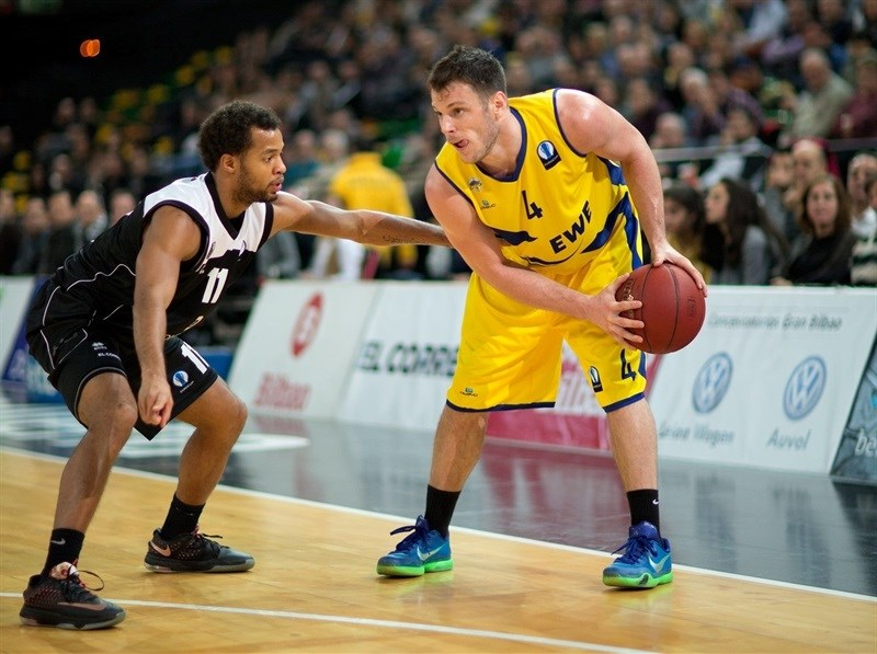 Chris Kramer - EWE Baskets Oldenburg - EC15 (photo Bilbao Basket - Aitor Arrizabalaga)