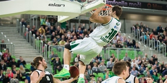 Regular Season, Round 9: Union Olimpija Ljubljana vs. Dominion Bilbao Basket