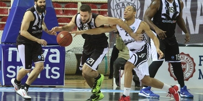 Regular Season, Round 9: PAOK Thessaloniki vs. Avtodor Saratov