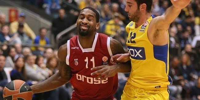 Regular Season, Round 9: Maccabi FOX Tel Aviv vs. Brose Baskets Bamberg