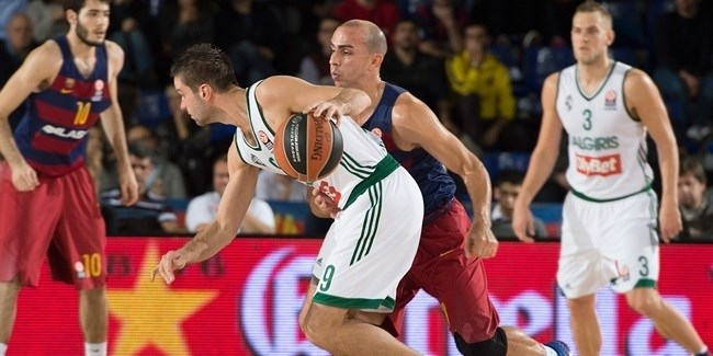 Regular Season, Round 9: FC Barcelona Lassa vs. Zalgiris Kaunas