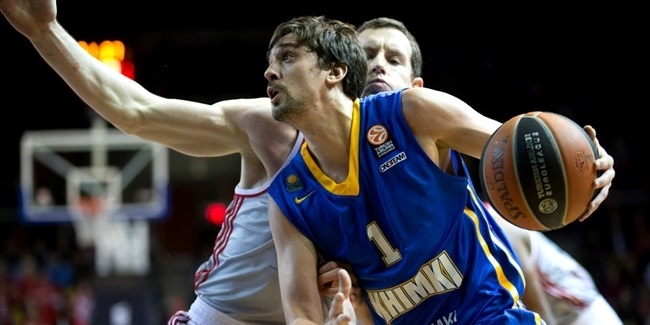 Regular Season, Round 9: Strasbourg vs. Khimki Moscow Region