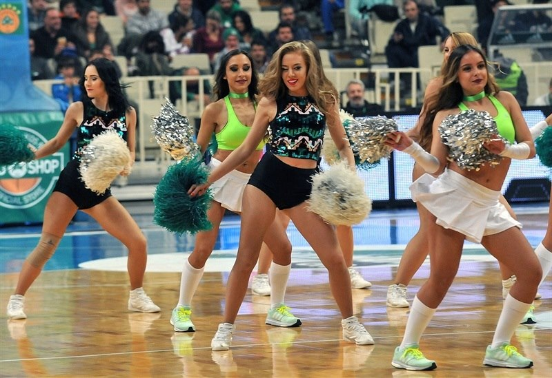 Cheerleaders - Panathinaikos Athens - EB15