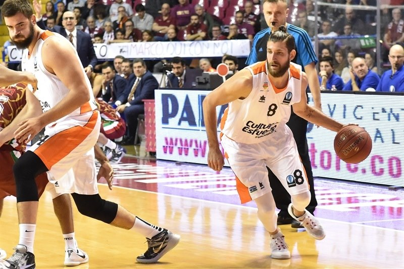 Antoine Diot - Valencia Basket - EC15 (photo Reyer Venice)